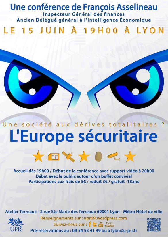 Affiche - L'Europe sécuritaire